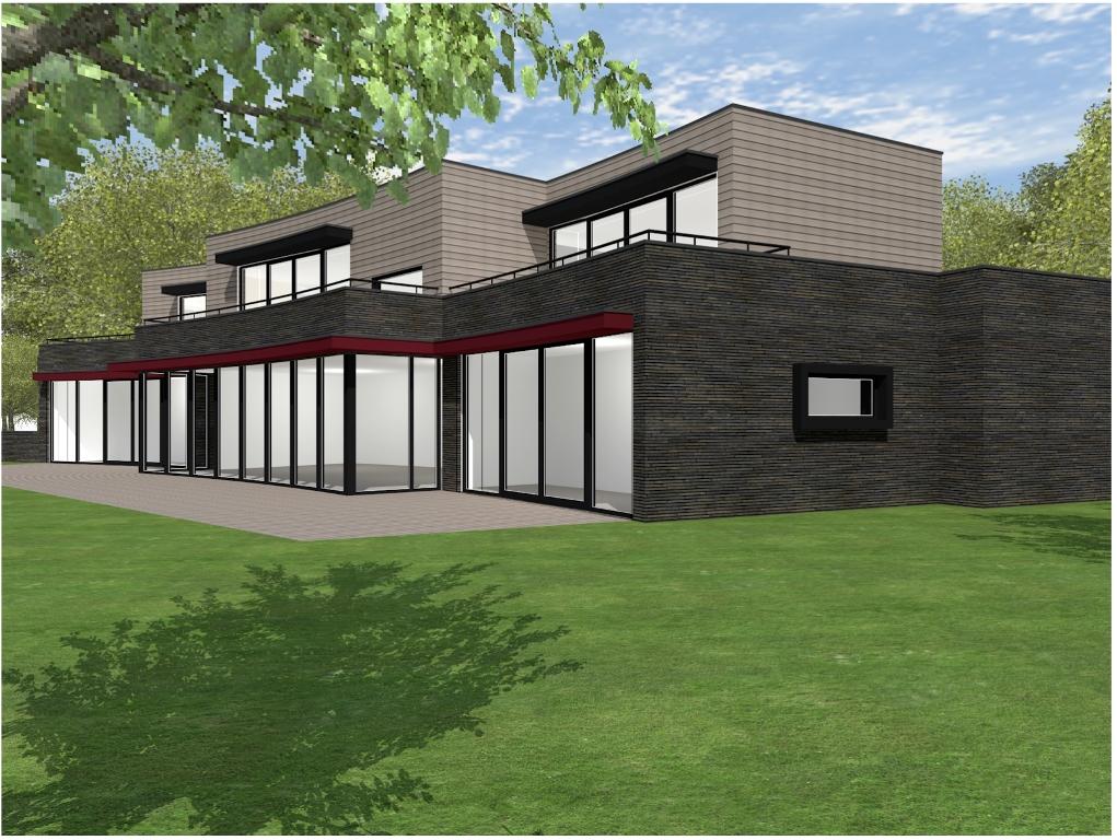 Moderne villa enschede 13 for Villa moderne 2016
